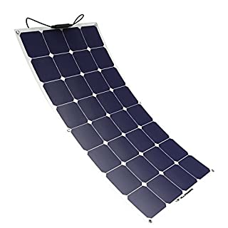 Solar Panel ALLPOWERS 100W 18V 12V Flexible SunPower Solar Charger Module with MC4 for RV, Boat, Cabin, Tent, Car, Trailer, or Any Other Irregular Surface