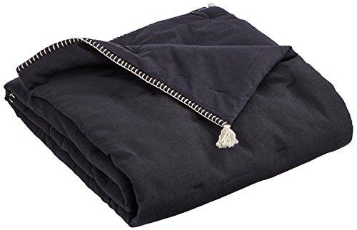 Safeco Edredon, Coton, Noir, 190x90 cm