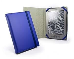Tuff-Luv Leder-Schutzhülle für Amazon Kindle 4 E-Ink mit 15,2 cm, 15.24 cm, Sonic Blue