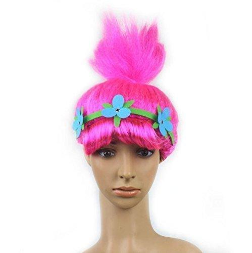 Hair Wizard Perücke Kopfbedeckung Bühne Rolle Spielen Requisiten Für Kinder Weihnachten Halloween Geburtstagsparty Dekorationen (Troll Kostüme Für Halloween)