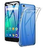 A-VIDET Coque pour xiaomi redmi go Transparente Silicone Gel TPU Souple, Housse Etui de Protection Bumper pour xiaomi redmi go (Transparent)