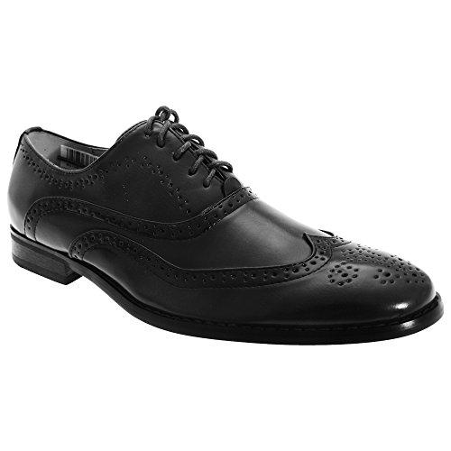 Goor - Chaussures de ville en cuir à lacets - Homme Noir