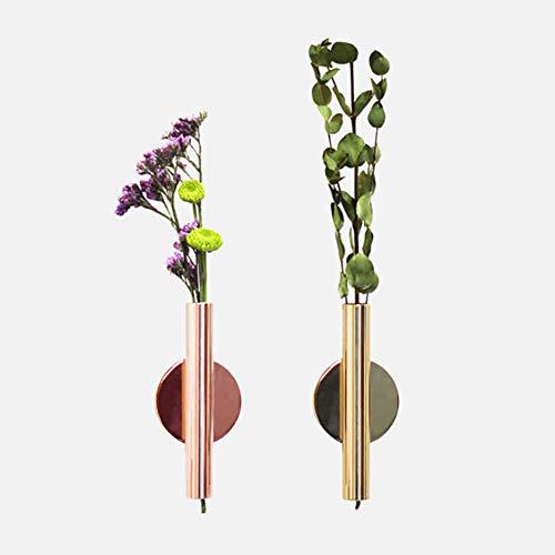 MOMEY Kreative Wand-Blumenkasten-trockene Blumen-Vase-Eisen-Kunst-Vase-Inneneinrichtung - Eisen Kunst