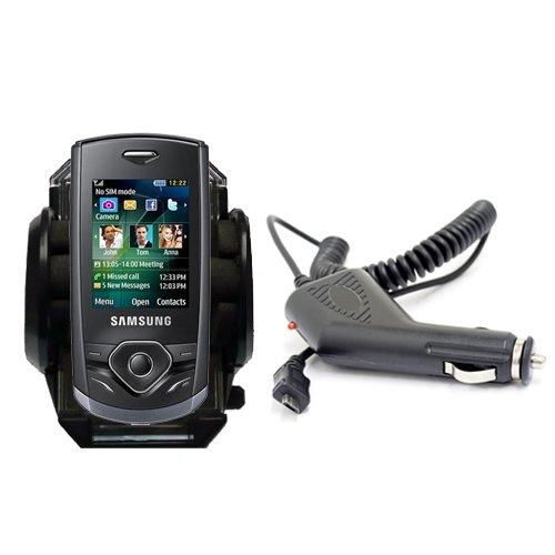Brandon Crystal (Neu XYLO Car Kit: Saugnapfhalterung und Autoladegerät für Samsung S3550 Shark 3 das Mobiltelefon (AKA Brandon))