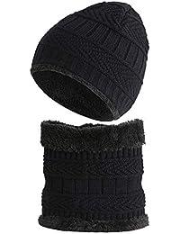 Kit per unisex maglia cappello + sciarpa Snood con fodera morbida per 1 ... 8a0739f396f4