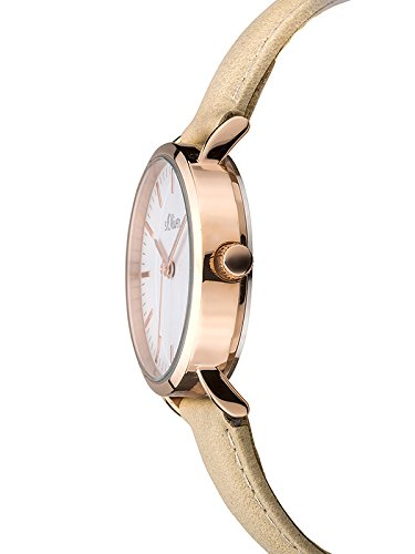 s.Oliver Time Damen-Armbanduhr SO-3333-LQ