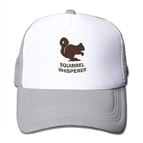 Cutakuzvmru The Squirrel Whisperer Adjustable Snapback Mesh Hats Adult Baseball Caps