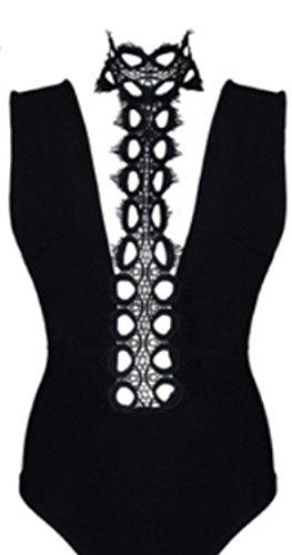HarrowandSmith - Combinaison - Femme L Noir