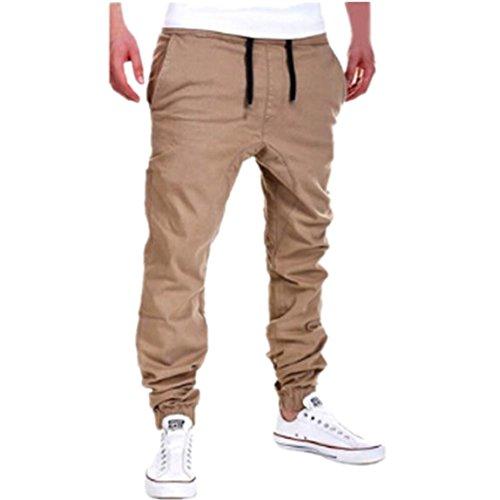 SKY Hombres de ocio de moda de verano ropa pantalones de jogging...