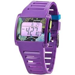Freegun EE5033 Unisex Watch Digital Quartz Purple Plastic Strap Purple Dial