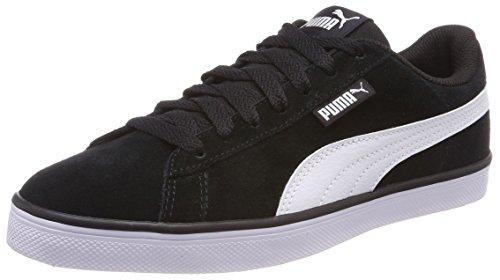 Puma Unisex-Erwachsene Urban Plus SD Sneaker, Schwarz (Puma Black-puma White 1), 41 EU (7.5 UK)