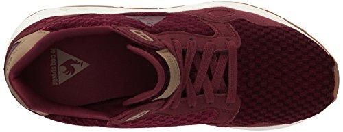Le Coq Sportif Lcsr900 W Velvet, Sneakers Basses Femme Rouge (Ruby Wine)