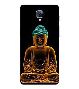 PrintVisa Designer Back Case Cover for OnePlus 3T (Gautam Budh Meditating )