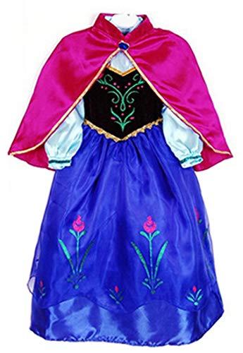 About Time Co Mädchen Prinzessin Schnee Umhang Kostüm