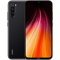 "Xiaomi Redmi Note 8 Smartphone,4GB 64GB Mobilephone,Pantalla Completa de 6.3 "",Procesador Snapdragon 665 Octa Core,Carga Rápida de 4000 mAh,Quad Cámara(48MP + 8MP + 2MP + 2MP) Versión Global(Negro)"