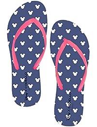 Disney MINNIE MOUSE FLIP FLOP Gr 36 37 38 39 Bade Schuhe Sandalen Mickey Maus .