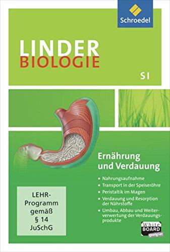 LINDER Biologie SI / Lernsoftware: LINDER Biologie SI: Ernährung und Verdauung: Einzelplatzlizenz