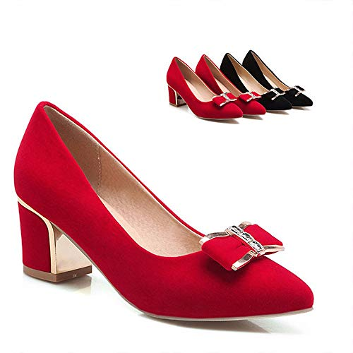 Lsm-Talons Frauen Blockabsatz Flache Flache Schuhe