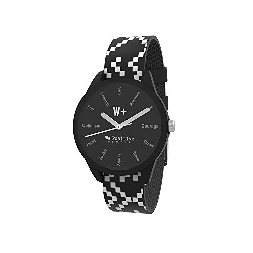 WE POSITIVE SPECIAL BLACK FRIDAY 50% OFF WATCH Ø36 MM PRINTED CRAZY COL. NERO