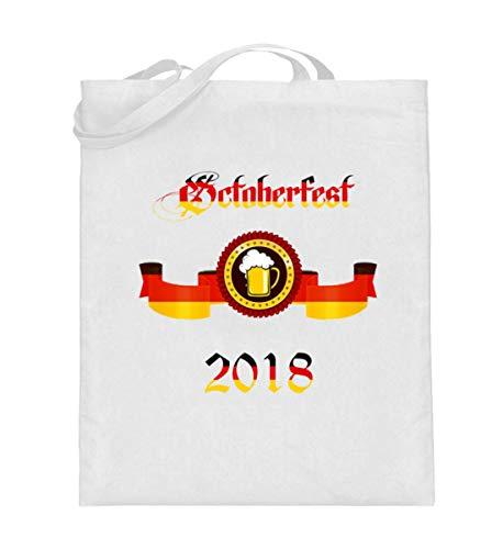 Oktoberfest 2018 München Bayern Zeltfest Outfit Bier Design Für Jung Und Alt - Jutebeutel (mit langen Henkeln)