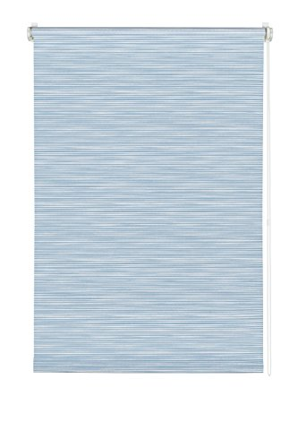 Gardinia 33172 tenda a rullo a motivi a righe con morsetto di fissaggio o adesiva, tessuto,, 150x120x0.1 cm