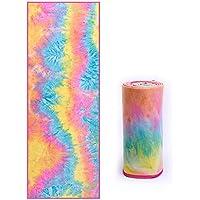 Toalla de Yoga Mat - Toalla de Yoga Antideslizante portátil para Mujeres  Principiante 5c2441a592e0