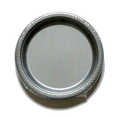 Amscan International 552285–17Kunststoff Teller, silber Spark, 22.8cm