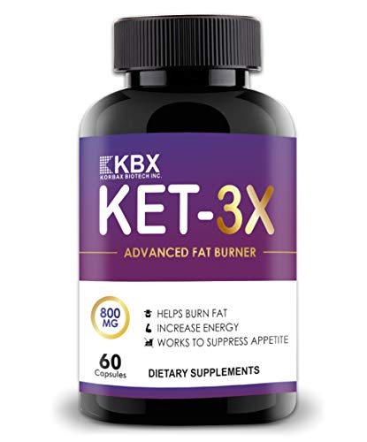 Korbax Biotech Inc. Fat Burner for men and women and weight loss Capsules supplements. Keto Formula/Lean Cutz body. Slimming tablet/Pills. Keto Friendly (60 Capsules). Fat Cutter