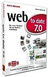 web to date 7.0, CD-ROM Der neue Standard für die Website-Erstellung!. Für Windows 7, Vista (SP2), XP (SP3)