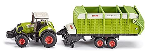 Siku 1846 - Traktor mit Ladewagen