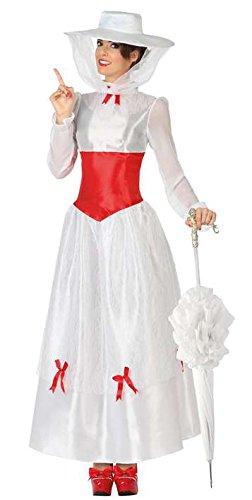 COSTUME TAGLIA XL NANNY Mary Poppins