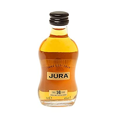 The Isle of Jura 16 Year Old Single Malt Scotch Whisky (12 x 5cl Miniature Bottles)