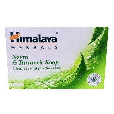 Himalaya Herbals Protecting Neem and Turmeric Soap, 75g (Pack of 6)