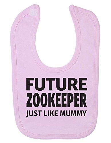 Zukunft Zoo Keeper Just Like Mummy Cute Newborn Toddler Baby Lätzchen - Keeper Mother
