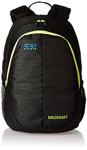 Wildcraft 27 Ltrs Black Casual Kids Backpack (Bricks 1)