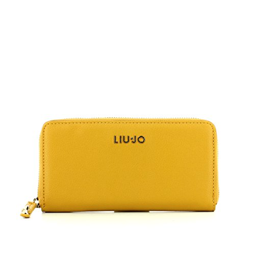Liu jo wallet Zip Around L Harvest Gold