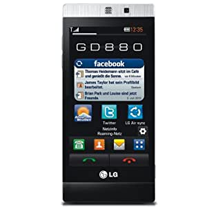 LG GD880 Mini Smartphone (HSDPA, 5MP, WiFi, GPS, Dolby Mobile) schwarz