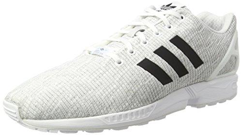 Adidas Originals Zx Flux, Baskets Gris Pour Homme (blanc / Gris)