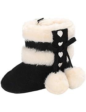 Kleinkind Schneestiefel Hirolan Warme Winterschuhe Mädchen Stiefel Neugeborenes Baumwolle gefütterte Schuhe Warming...