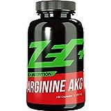 ZEC+ Arginin AKG - 180 hochdosierte Kapseln mit 1000 mg L-Arginin-Alphaketoglutarat, hochwertige AAKG Aminosäuren Kapseln als Pre Workout Supplement für Bodybuilding & Kraftsport, Made in Germany