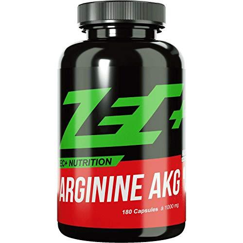 ZEC+ ARGININ AKG 180 Kapseln | Pump Supplement | Aminosäure L-Arginin mit besserer Verwertbarkeit durch AKG Alpha Ketoglutarat