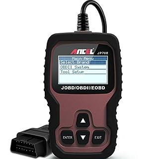 Ancel JP700 Auto-JOBD-Codeleser (japanische Fahrzeuge) Auto OBD-II-Scanner, Prüfung von Motor und Licht, Scanner zum Lesen und Löschen von Fehlercodes