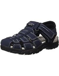 Geox Boys' Jr Strada C Closed Toe Sandals