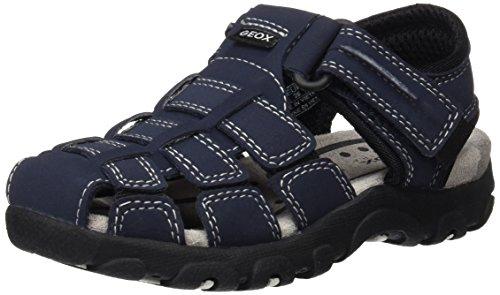 Geox Jungen JR Sandal Strada C Geschlossene, Blau (Navy/BLACKC0045), 34 EU