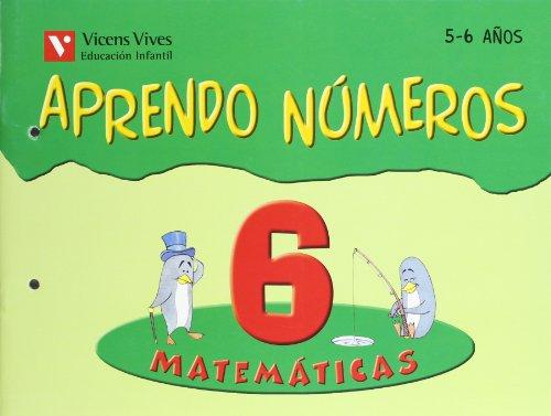 Aprendo Números. Cuaderno 6 - 9788431659967