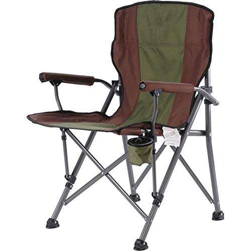 WYX Camping Stuhl Hocker Camping Strand Stuhl Klappsessel Freizeit Outdoor Portable für BBQ, Angeln, Reisen, Wandern, Garten, Strand,B