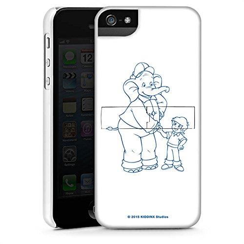 Apple iPhone X Silikon Hülle Case Schutzhülle Benjamin Blümchen Fanartikel Merchandise Der sprechende Elefan Premium Case StandUp