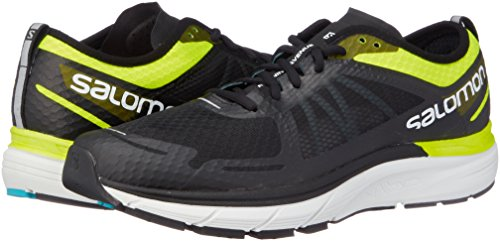 Sonic RA Max - Chaussures running homme Safety Yellow / Black / Bluebird