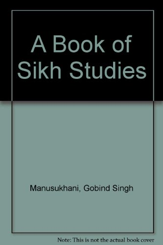 A Book of Sikh Studies