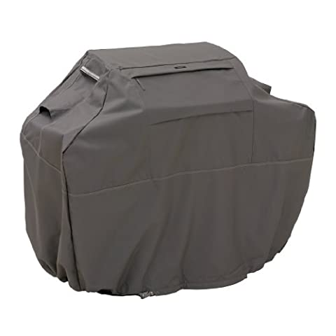 Classic Accessories Ravenna Grill Cover - Premium BBQ Cover with Reinforced Fade-Resistant Fabric, 3X-Large,